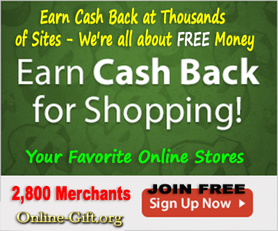 Earn Cash Back