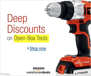 Open Box Tools